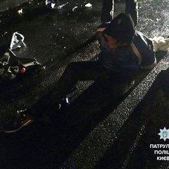 У Києві нетверезий байкер погрожував підпалити себе і поліцейських