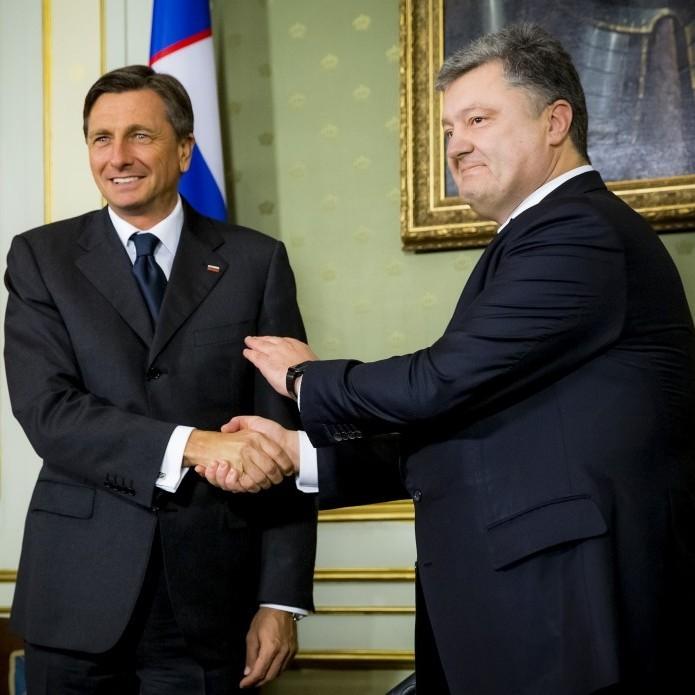 Петро Порошенко прибув до Словенії із офіційним візитом