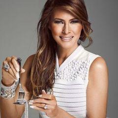 Перша леді США. П'ять стильних образів Меланії Трамп (фото)