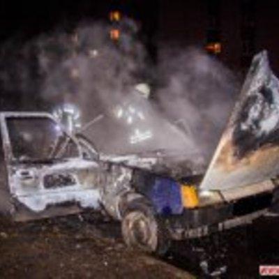 У Житомирі вибухнув автомобіль