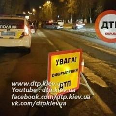 В Києві сталося ДТП із стріляниною (фото)
