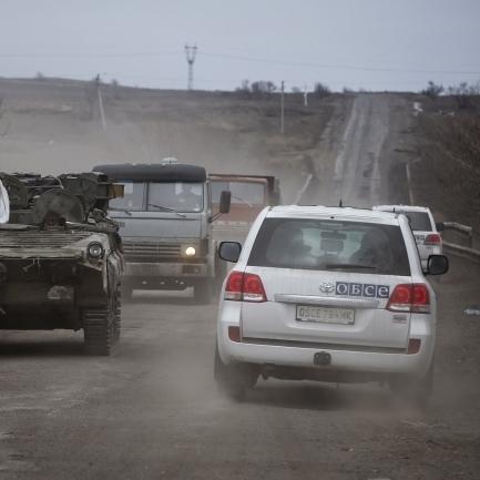 ОБСЄ зафіксувало збільшення обстрілів на Луганщині майже вдвічі