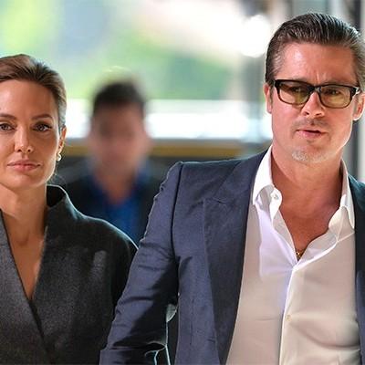 Бред Пітт має компромат на Анджеліну Джолі