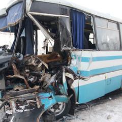 ДТП на Житомирщині: зіткнулись вантажівка та рейсовий автобус, є постраждалі (фото)