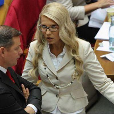 Ляшко «послав» Тимошенко наводити порядок у каналізації (відео)