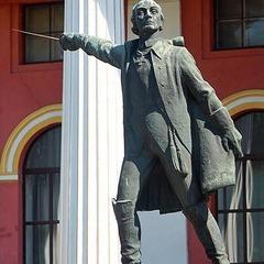 У Києві ліквідують пам'ятник відомого російського полководця