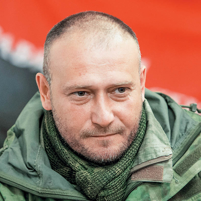 Ярош домовляється з Порошенком про створення добровольчої армії