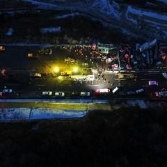 Масова ДТП у  Китаї: зіткнулось більше півсотні автомобілів (фото)