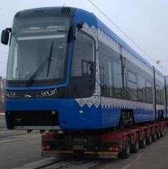 У Києві від Борщагівки до Старовокзальної курсуватиме новий польський трамвай (фото)