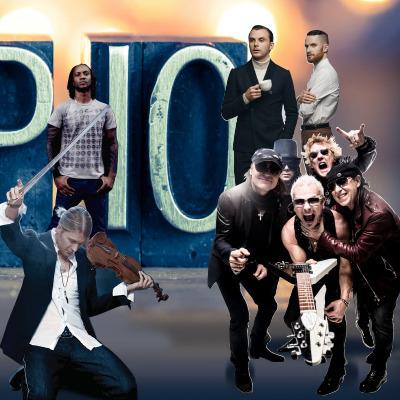 Топ-10 найпопулярніших іноземних артистів в Україні