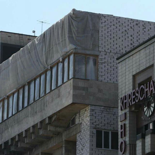 Незаконні поверхи над столичним Будинком профспілок знесуть