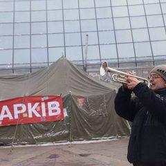 У трубача Майдану вкрали його знамениту трубу (відео)
