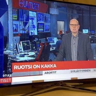 Швецію назвали «какашкою» в ефірі фінського телеканалу