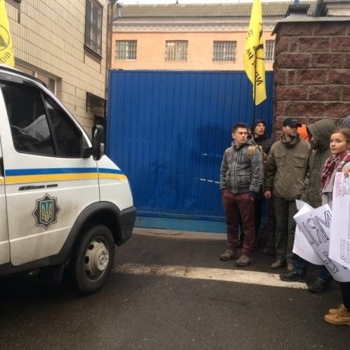 У «Правому секторі» невиразно пояснили, чому блокують виїзд екс-«беркутівців» з Лук'янівського СІЗО