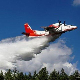 Українські екіпажі «АН-32П» розпочали гасіння лісових пожеж в Ізраїлі (відео)