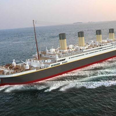 Будівництво точної копії «Титаніка» почали у Китаї заради туристів (фото)