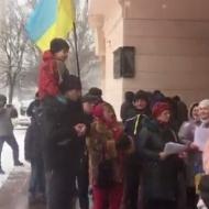 «Дуля вам, а не Україна»: У Дніпрі заспівали відповідь на «Катюшу» Вілкула (відео)