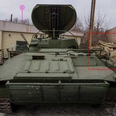 Волонтери розсекретили базу інженерно-саперного підрозділу російських окупантів у Донецьку (фото)