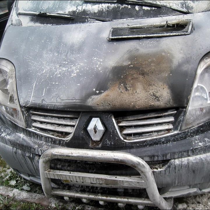 Масове загорання автомобілів у Львові