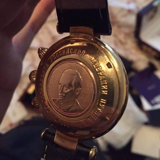 Екс-глава Київенергохолдингу затриманий з іменним годинником від Путіна