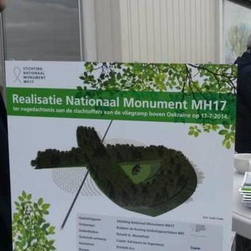 У Нідерландах почалося будівництво меморіалу в пам'ять про жертви рейсу MH17 ( Відео)