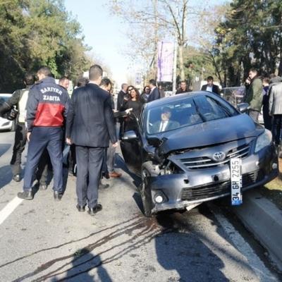 Кортеж  президента Туреччини потрапив у ДТП, є постраждалі (фото, відео)