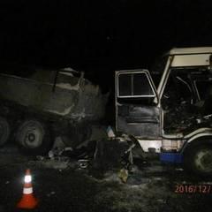 На Львівщині вантажівка зіткнулася із маршруткой, загинули пасажири (фото)