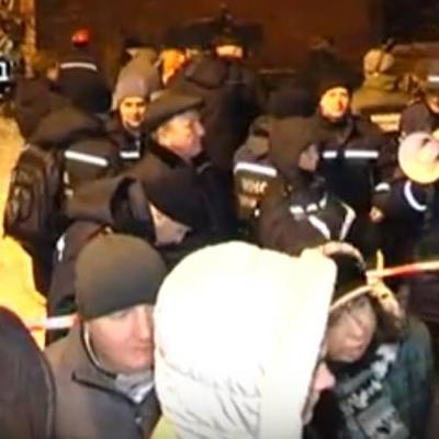 З'явилося відео обвалу гуртожитку на Чернігівщині (відео)