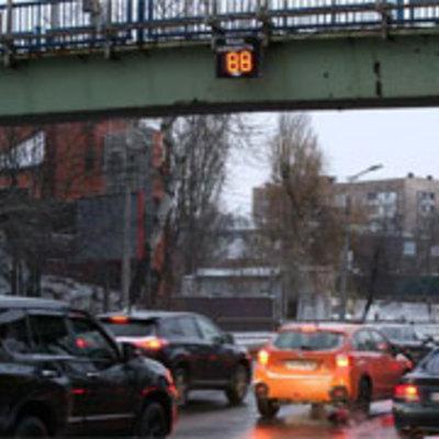 У столиці встановили «розумне» табло контролю швидкості (фото)