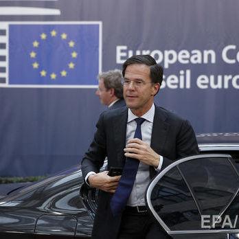 Європейська рада оприлюднила рішення про асоціацію з Україною, що враховує побажання Нідерландів