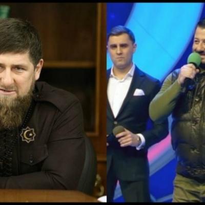 «Смілива пародія»: У мережі коментують відео плазування Галустяна перед Кадировим