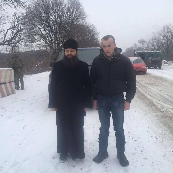 Де утримували звільненого «кіборга» Колодія: повідомляє Геращенко