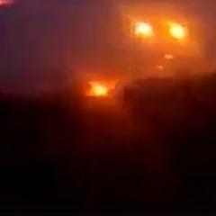 З'явилося відео вчорашнього бою у районі Світлодарської дуги