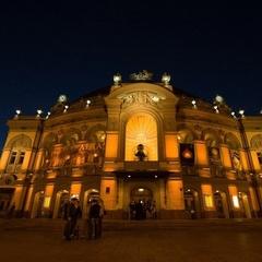 Як виглядає світлове 3D-шоу на фасаді Національної опери - фотофакт