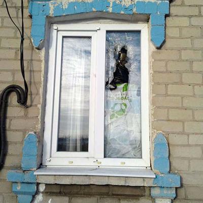 Терористи обстріляли село на Донеччині