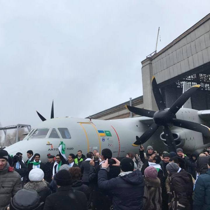 На «Антонові» представили новий літак Ан-132 (відео)