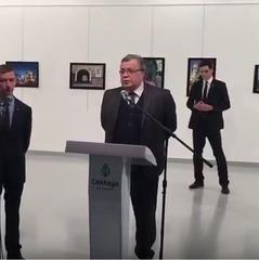 З'явилося повне відео вбивства посла РФ в Туреччині