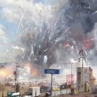 Страшний вибух на ринку піротехніки в Мексиці: є загиблі (фото)