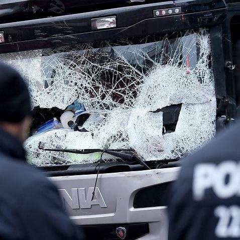 Водій польської вантажівки боровся з терористом, що напав на нього в Берліні