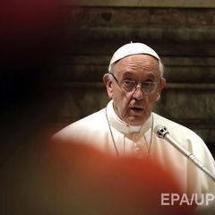 Папа Римський пожертвує постраждалим на Донбасі 6 млн євро
