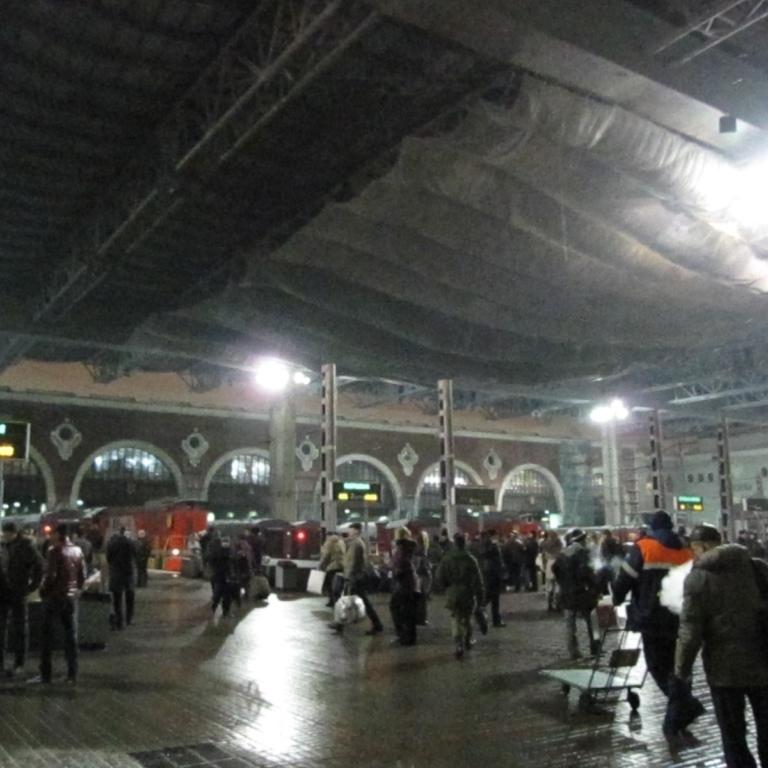 В Москві евакуювали три вокзали через загрозу вибуху