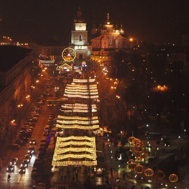 У КМДА запросили киян і гостей столиці зустріти Новий рік на Софійській площі