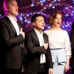 Зеленський, Джамала і паралімпійці виконали гімн України (відео)
