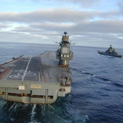 «Адмірал Кузнєцов» може в цьому місяці завершити похід у Середземне море