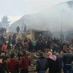 Число загиблих в результаті теракту в сирійському Азазе зросло до 60 людей
