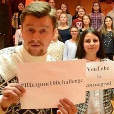 Священник із Вінниці організував пісенний флешмоб