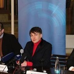 Савченко в Празі розповіла про головну помилку Мілоша Земана