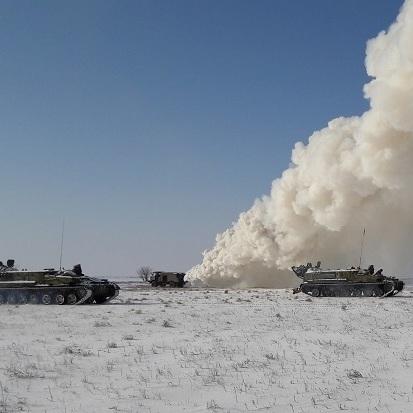 ЗСУ провели військові навчання недалеко від Криму: фото