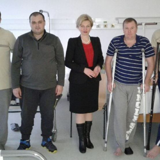 Угорщина надає медичну допомогу українським військовослужбовцям