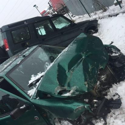 Жахлива автокатастрофа в Ужгороді